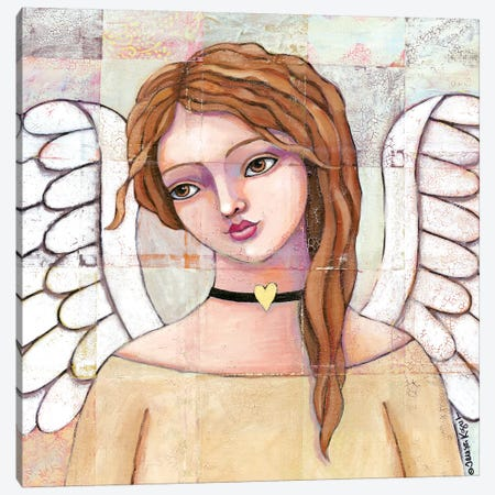 Ashley's Guardian Canvas Print #TKG16} by Teresa Kogut Art Print