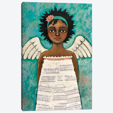 Speaks With Grace Canvas Print #TKG173} by Teresa Kogut Canvas Artwork