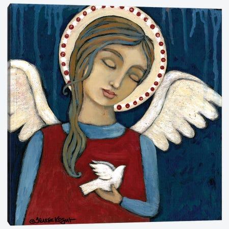 Symbol Of Peace Canvas Print #TKG180} by Teresa Kogut Canvas Art Print