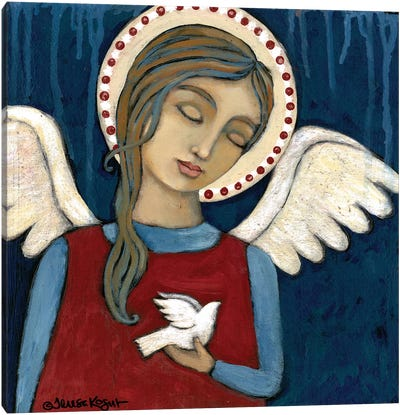 Symbol Of Peace Canvas Art Print