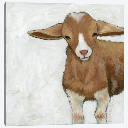 Tilly Goat Canvas Print #TKG183} by Teresa Kogut Canvas Art Print