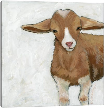 Tilly Goat Canvas Art Print