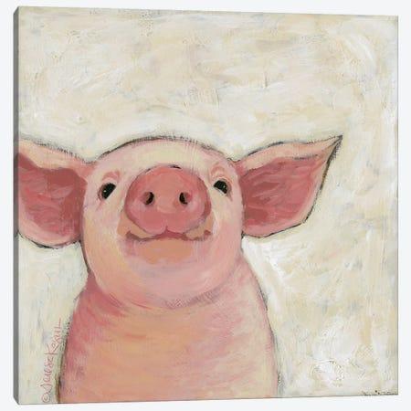 Wilbur Canvas Print #TKG191} by Teresa Kogut Canvas Wall Art