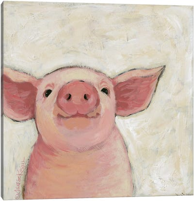 Wilbur Canvas Art Print