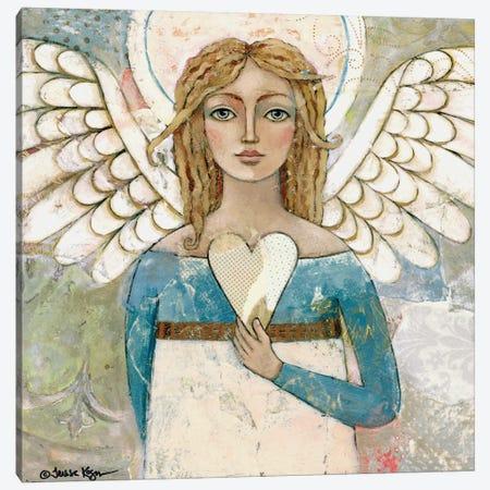 You Are Worthy Canvas Print #TKG197} by Teresa Kogut Art Print