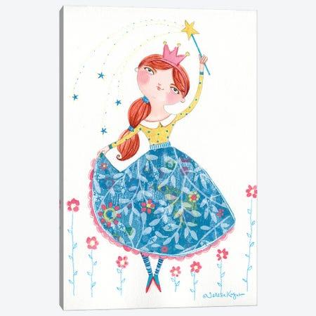 Beautiful Princess Canvas Print #TKG20} by Teresa Kogut Canvas Art Print