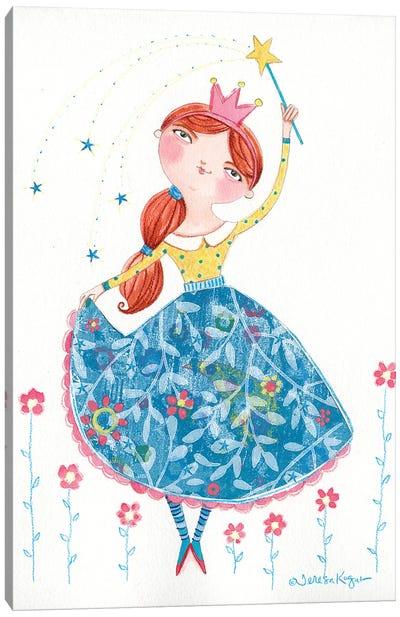 Beautiful Princess Canvas Art Print