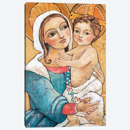 Beauty & Grace Canvas Print #TKG21} by Teresa Kogut Canvas Print