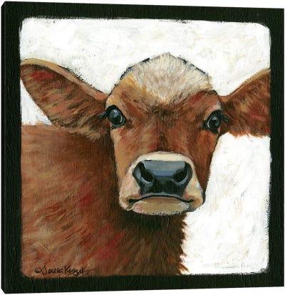 Bella Cow Canvas Art Print