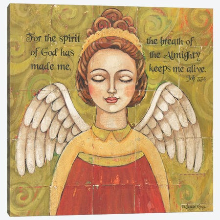 Breath Of The Almighty Canvas Print #TKG26} by Teresa Kogut Canvas Art