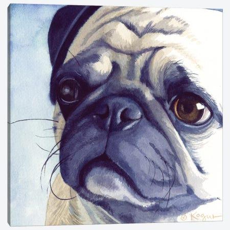 Bugabee Pug Canvas Print #TKG28} by Teresa Kogut Canvas Print