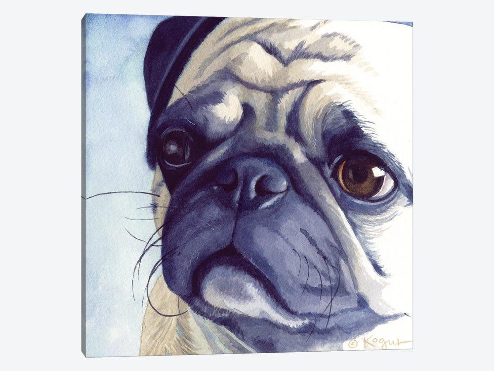 Bugabee Pug by Teresa Kogut 1-piece Canvas Artwork