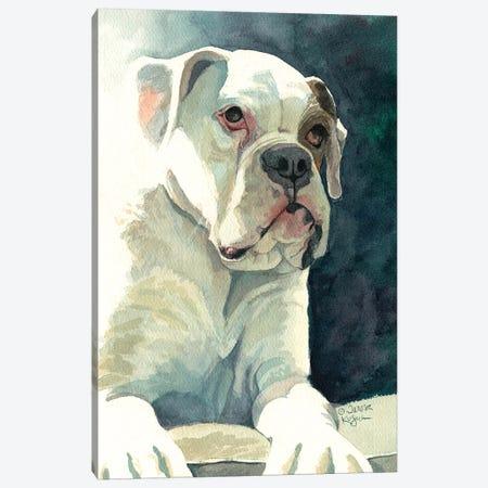 Buster Canvas Print #TKG29} by Teresa Kogut Art Print