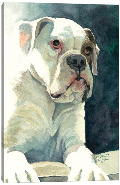 Buster Canvas Art Print