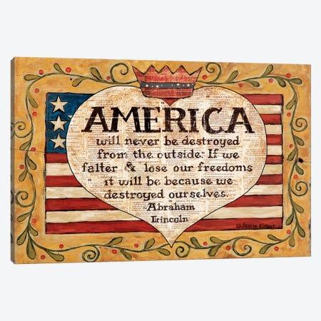 America Canvas Print #TKG2} by Teresa Kogut Canvas Print