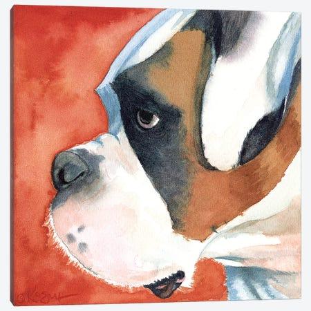 Buster Lookin North Canvas Print #TKG32} by Teresa Kogut Canvas Art