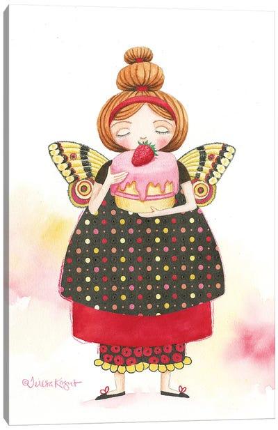 Cake Fairy Canvas Art Print