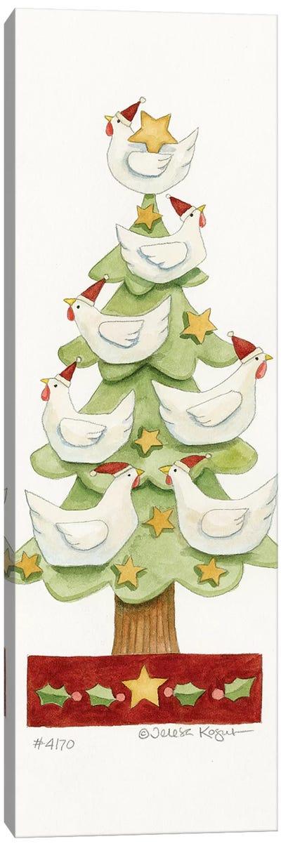 Chicken Tree Canvas Art Print
