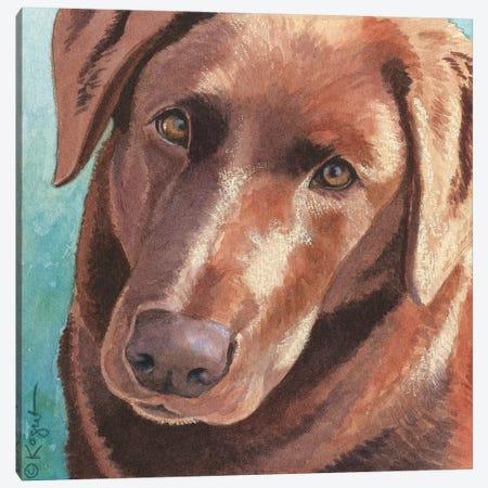 Daisy Canvas Print #TKG42} by Teresa Kogut Art Print