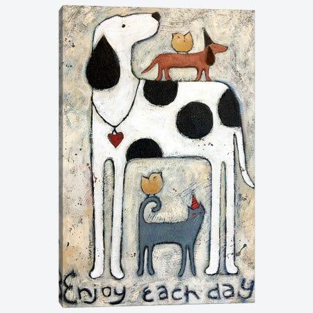 Each Day Canvas Print #TKG50} by Teresa Kogut Canvas Wall Art