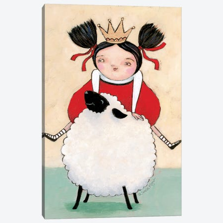 Ewe Ride Canvas Print #TKG51} by Teresa Kogut Canvas Art