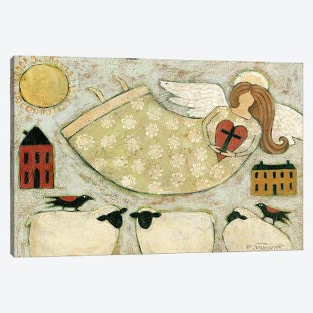 Faith Cbl 3-Piece Canvas #TKG52} by Teresa Kogut Canvas Art