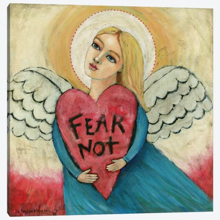 Fear Not Canvas Print #TKG57} by Teresa Kogut Canvas Print
