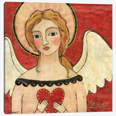 Angel Of Love Canvas Print #TKG7} by Teresa Kogut Canvas Art