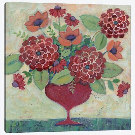Floral XXIX Canvas Print #TKG81} by Teresa Kogut Canvas Art Print