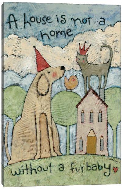 Furbaby Canvas Art Print