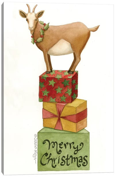Goat Of Gifts Canvas Art Print