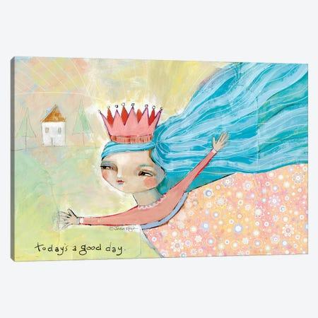 Good Day Canvas Print #TKG98} by Teresa Kogut Canvas Art