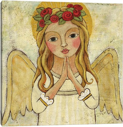 Angel Of Purity Canvas Art Print