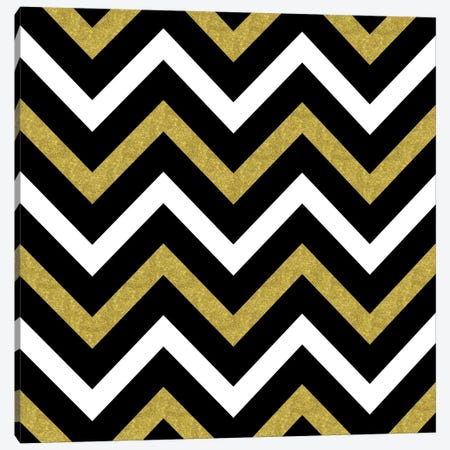 Bling Chevron Canvas Print #TLA1} by Tina Lavoie Canvas Wall Art