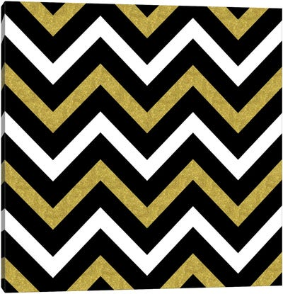Bling Chevron Canvas Art Print