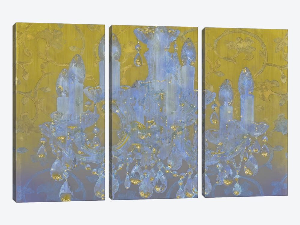 Champagne Ballroom by Tina Lavoie 3-piece Canvas Artwork