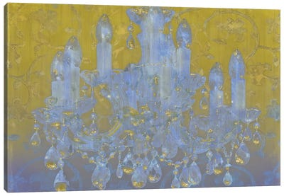 Champagne Ballroom Canvas Art Print