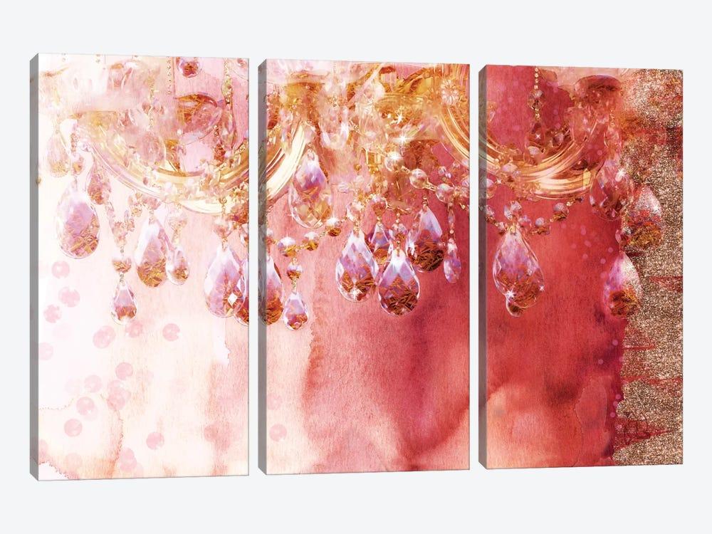 First Blush by Tina Lavoie 3-piece Canvas Artwork