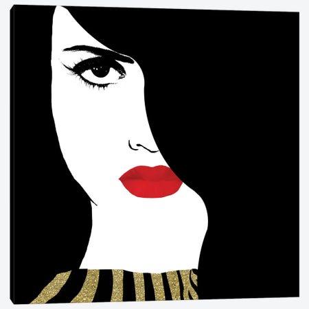 Francesca Gold Canvas Print #TLA5} by Tina Lavoie Canvas Art Print