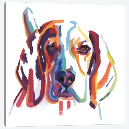 Beagle Canvas Print #TLB1} by Andrew Talbot Canvas Print
