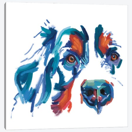 Cocker Spaniel Canvas Print #TLB6} by Andrew Talbot Canvas Wall Art