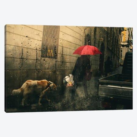 Leash Canvas Print #TLI10} by Alessio Trerotoli Canvas Print