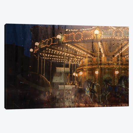 Merry Go Round Canvas Print #TLI12} by Alessio Trerotoli Canvas Art Print