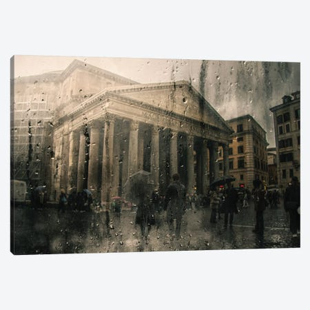 Pantheon Canvas Print #TLI15} by Alessio Trerotoli Canvas Art