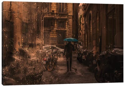 Solitary Man Canvas Art Print