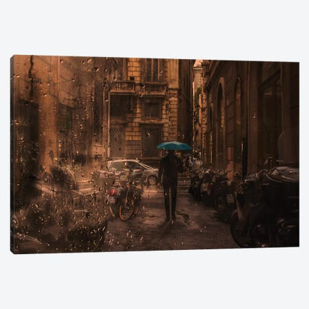 Solitary Man Canvas Print #TLI17} by Alessio Trerotoli Canvas Art