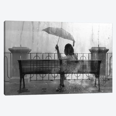 Summer Rain Canvas Print #TLI19} by Alessio Trerotoli Art Print