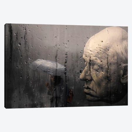 The Head Canvas Print #TLI20} by Alessio Trerotoli Canvas Artwork