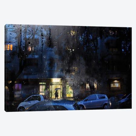 Blue Velvet Canvas Print #TLI3} by Alessio Trerotoli Canvas Artwork