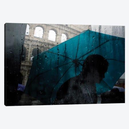 Feelin' Blue Canvas Print #TLI8} by Alessio Trerotoli Canvas Artwork